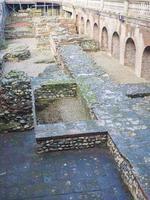 romerska teatern Turin foto
