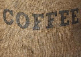 rostad kaffesäck foto