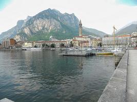 landskap av lecco foto