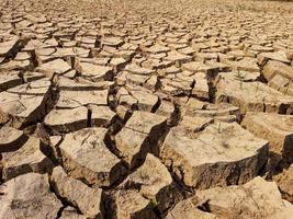 knäckt jord texturerat foto