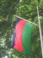 malawiska malawiens flagga foto