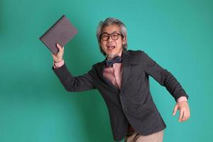 östasiatisk lärare foto