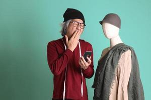 asiatisk modedesigner foto