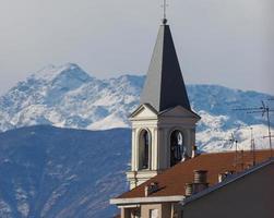 utsikt över settimo, Italien foto