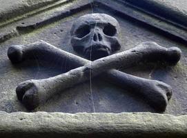 gammal gotisk grav foto