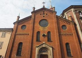 Santa Maria del Suffragio kyrka i Turin foto