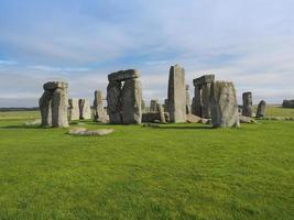 Stonehenge -monumentet i Amesbury foto