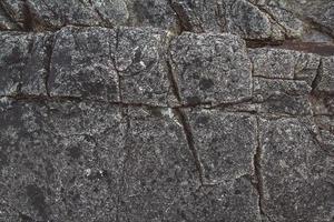 abstrakt stenstruktur från vågor eroderar, naturbakgrund foto