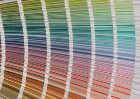 färgprovssystem foto