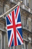 Storbritannien flagga Storbritannien aka union jack foto