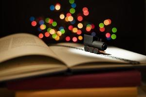 böckerna fantasi stilleben foto
