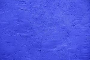grov blå vägg med textur foto