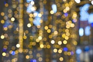 julkrans glödande ljus foto