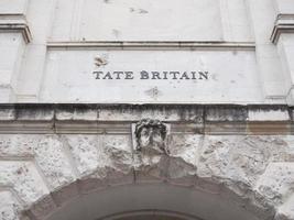 tate britain art gallery i London, Storbritannien foto