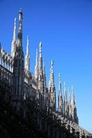 milan domkyrka, duomo di milano, italien foto