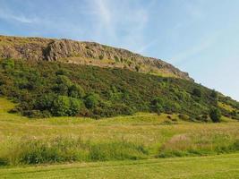Arthur's seat i Edinburgh foto