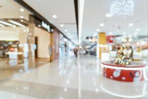 abstrakt suddig lyx köpcentrum och butik foto