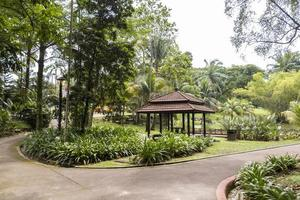 oas trädgård i perdana botaniska trädgårdar i Kuala Lumpur, Malaysia. foto