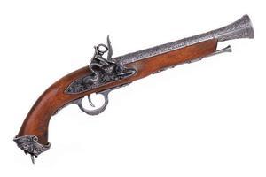 kopia av den gamla spanska pistolen foto
