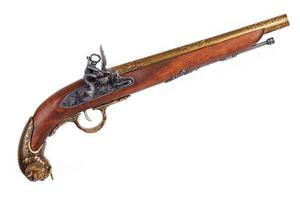 imitation av gammalt vapen foto
