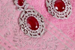 thailändska vintage smycken foto