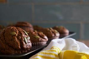 utsökt brödmuffinsmeny foto