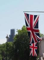 Storbritanniens flaggor foto