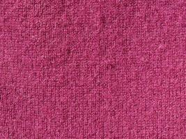 lila ull textur bakgrund foto