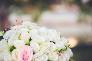blomma i bröllopsevenemang foto