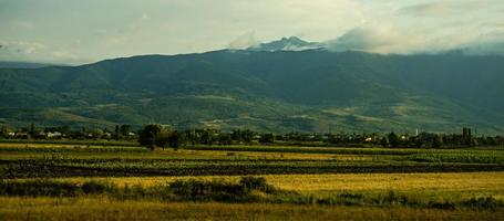 centrala georgiska landskapet foto