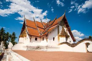 buddhistiskt tempel av Wat Phumin i Nan, Thailand foto