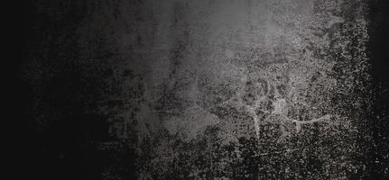 läskiga mörka väggar, något ljus svart betongcementstruktur för bakgrund foto