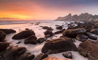 havets lycka landskap foto