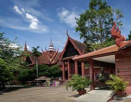 Phnom Penh, Kambodja, 2021 - Nationalmuseets landmärke foto