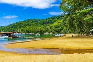 grande rio de janeiro, Brasilien, 23 nov 2020 - mangrove- och pouso -strand foto