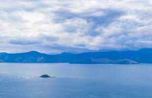 panoramautsikt från ilha grande portogalo macieis verolme brazil. foto
