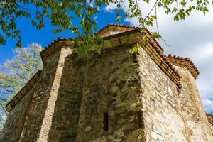 dzveli shuamta kloster i georgien foto