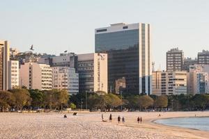 Rio de Janeiro, Brasilien, 2015 - Botafogo -stranden i Rio de Janeiro foto