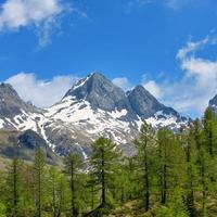 berget av diavolo di tenda på orobie -alperna i brembanadalen foto