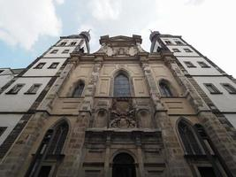 kyrka med namnet jesus gamla katolska församlingskyrkan i Bonn, Tyskland foto