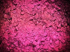 rosa jordstruktur foto