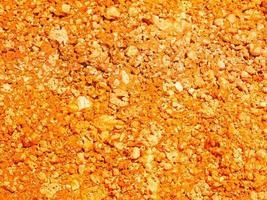 orange jordstruktur foto