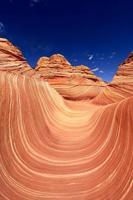 wave navajo sandformation i arizona usa foto