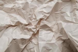 skrynkligt pappersstruktur foto