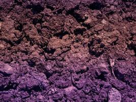 lila jordstruktur foto