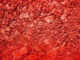 röd stenstruktur utanför foto