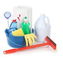 rengöringsartiklar för runt huset foto