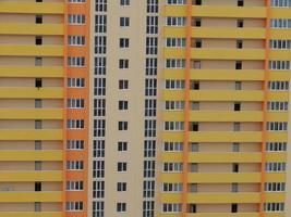 nya bostadshus och flerbostadshus foto
