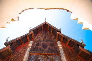 wat phra that lampang luang, lampang, thailand foto