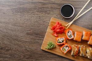 sushi maki set foto